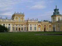 Palacio del ³ w de Wilanà Imágenes de archivo libres de regalías