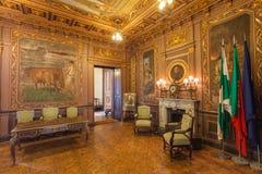 Palacio a Dinamarca Bolsa Foto de Stock Royalty Free
