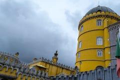 Palacio a Dinamarca Pena em Sintra (Portugal) Imagem de Stock