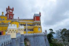 Palacio a Dinamarca Pena em Sintra (Portugal) Imagem de Stock Royalty Free