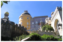Palacio a Dinamarca Pena - Sintra - Portugal Fotografia de Stock