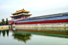 Palacio divino Pekín C de Gugong la ciudad Prohibida de la pureza de la puerta posterior fotos de archivo libres de regalías