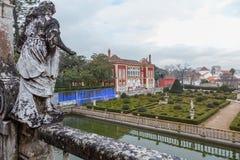 Free Palacio Dos Marqueses Da Fronteira In Cloud Day Royalty Free Stock Image - 136990726