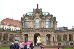 Palacio Dresden de Zwinger Fotos de archivo libres de regalías