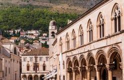 Palacio Dubrovnik de los rectores Foto de archivo