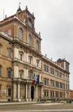 Palacio ducal de Módena, Italia Imagen de archivo libre de regalías