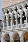 Palacio ducal - detalle 2, Venecia Imágenes de archivo libres de regalías