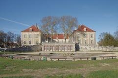 Palacio ducal en Sagan. Fotos de archivo