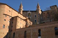 Palacio ducal - Urbino Foto de archivo libre de regalías