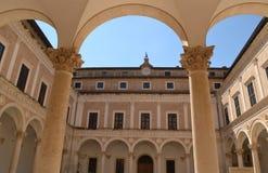 Palacio Ducale - Urbino Fotos de archivo libres de regalías