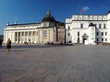 Palacio editorial de los duques magníficos de Lituania y de MU nacional Fotografía de archivo