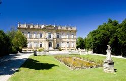 Palacio en Barbentane fotos de archivo