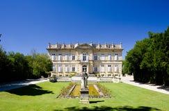 Palacio en Barbentane Fotografía de archivo