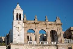 Palacio en Bari Old Town, Italia fotografía de archivo libre de regalías
