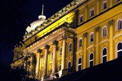Palacio en Budapest Foto de archivo