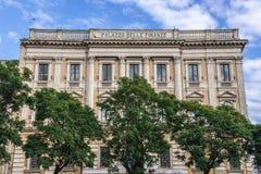 Palacio en Catania Foto de archivo