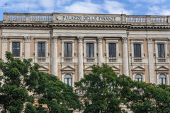 Palacio en Catania Fotografía de archivo libre de regalías