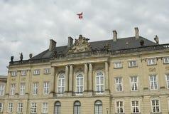 Palacio en Dinamarca Foto de archivo