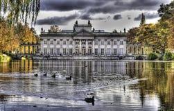 Palacio en el agua Imagen de archivo libre de regalías