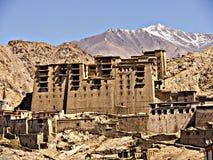 Palacio en el laddakh la India Fotografía de archivo libre de regalías