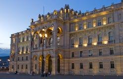 Palacio en el pasillo Fotos de archivo