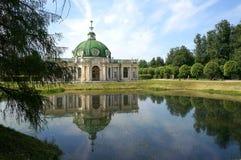 Palacio en Kuskovo (Rusia) Imagenes de archivo