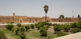 Palacio en Marrakesh Foto de archivo