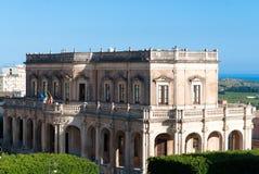 Palacio en Noto, Sicilia de Ducezio Imagen de archivo libre de regalías