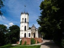 Palacio en Opinogora Masovian Voivodeship, Polonia Imagen de archivo
