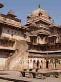 Palacio en Orcha, Madhya Pradesh Imagen de archivo libre de regalías