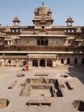Palacio en Orcha, Madhya Pradesh Foto de archivo