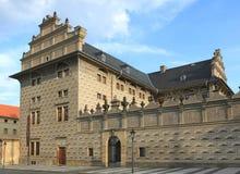 Palacio en Praga Fotografía de archivo libre de regalías
