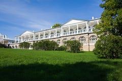 Palacio en Pushkin Imágenes de archivo libres de regalías