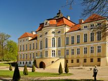 Palacio en Rogalin Imagen de archivo