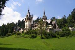 Palacio en Rumania Imagen de archivo libre de regalías