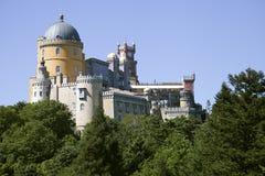 Palacio en Sintra, Portugal de Pena Imagen de archivo libre de regalías