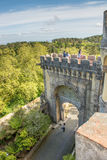 Palacio en Sintra, Portugal de Pena Fotos de archivo