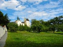 Palacio en Suecia foto de archivo