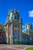 Palacio en Tsaritsino fotografía de archivo
