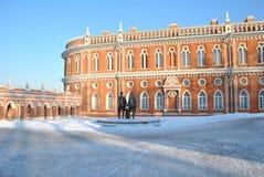 Palacio en Tsaritsyno Fotos de archivo