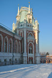 Palacio en Tsaritsyno Imagen de archivo