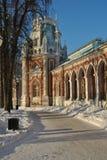 Palacio en Tsaritsyno Fotografía de archivo