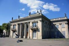 Palacio en Varsovia foto de archivo libre de regalías