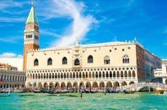 Palacio en Venecia fotografía de archivo