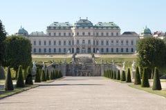 Palacio en Viena Fotos de archivo libres de regalías