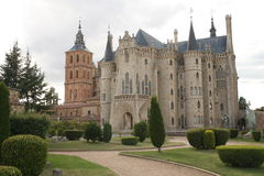 Palacio episcopal, Astorga Fotografía de archivo