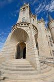 Palacio episcopal de Astorga, León, España fotos de archivo