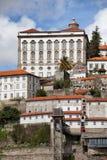 Palacio episcopal de Oporto en Portugal Imagen de archivo libre de regalías