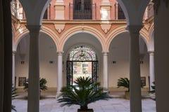 Palacio episcopal Málaga Foto de archivo