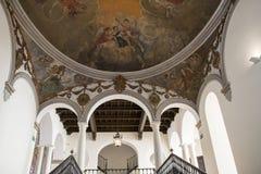 Palacio episcopal Málaga Fotos de archivo libres de regalías